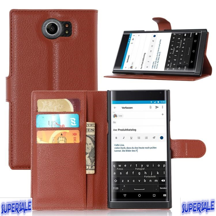 Casing Case Cover with Front Cover for Blackberry Priv