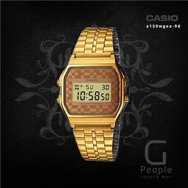 CASIO A159WGEA-9 DIGITAL RETRO WATCH ☑ORIGINAL