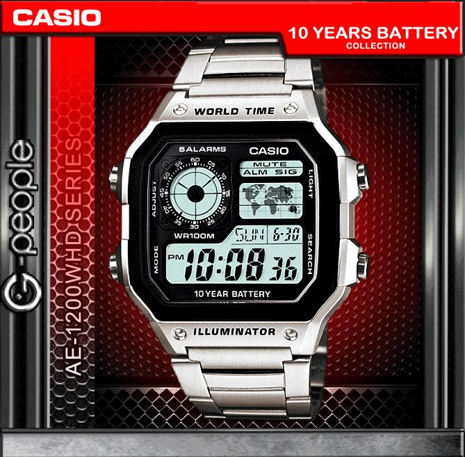 CASIO AE-1200WHD-1AV / AE-1200WHD-1A WATCH 100% ORIGINAL