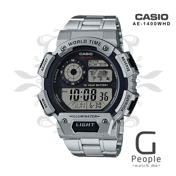 CASIO AE-1400WHD-1AV / AE-1400WHD-1A DIGITAL WATCH 100 % ORIGINAL