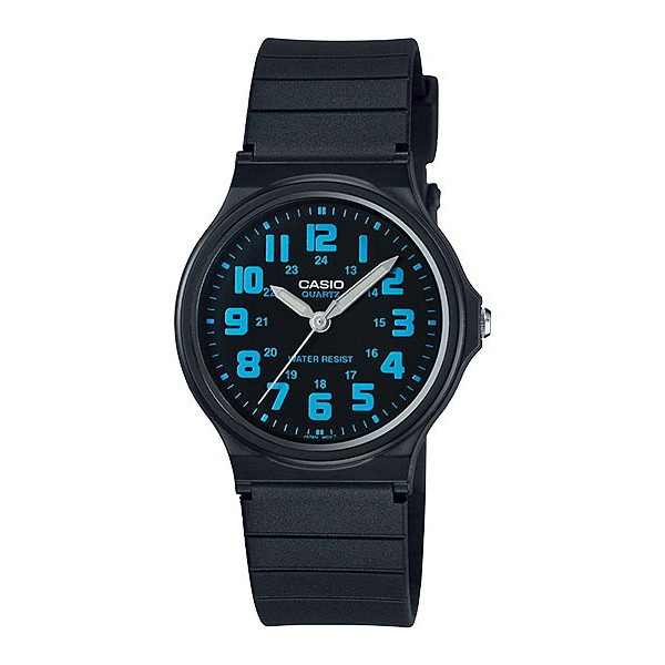 CASIO ANALOG Kids Watch MQ-71-2BV | Simple Full Black