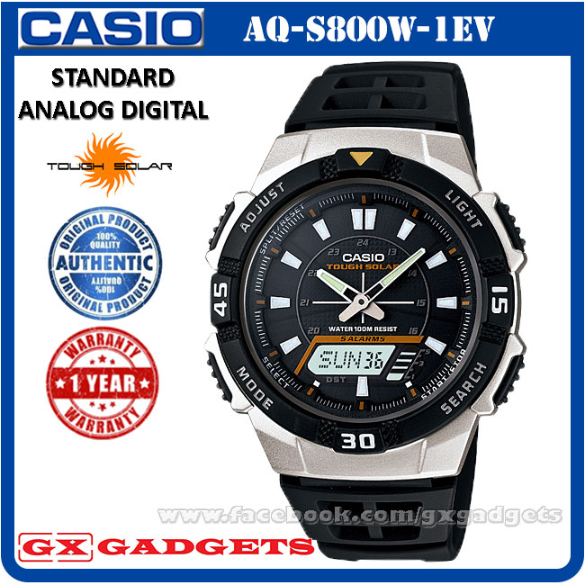 casio aq s800w 1ev standard analog d end 3 11 2019 8 57 am rh lelong com my Casio Men's Analog Watches Timex Analog Digital Watch