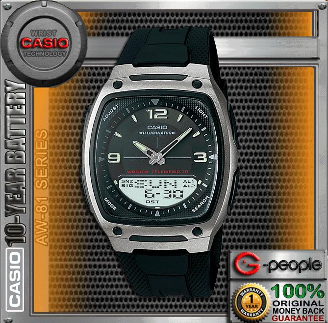 CASIO AW-81-1A1V WATCH ☑ORIGINAL☑