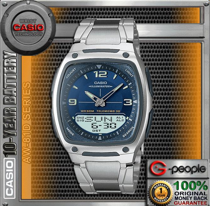 CASIO AW-81D-2AV /  AW-81D-2A  WATCH 100%ORIGINAL SPECIAL COLOUR&#9745