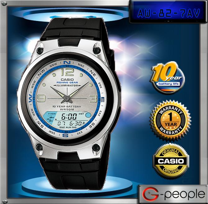 CASIO AW-82-7AV WATCH ☑ORIGINAL☑