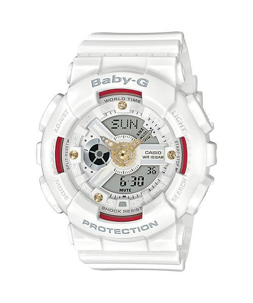a4d0acdf4e324 CASIO BABY-G BA-110DDR-7A white colo (end 2 15 2020 8 15 PM)