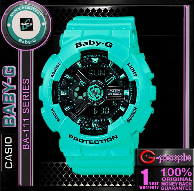 CASIO BABY-G  BA-111-3A  WATCH ☑ORIGINAL☑