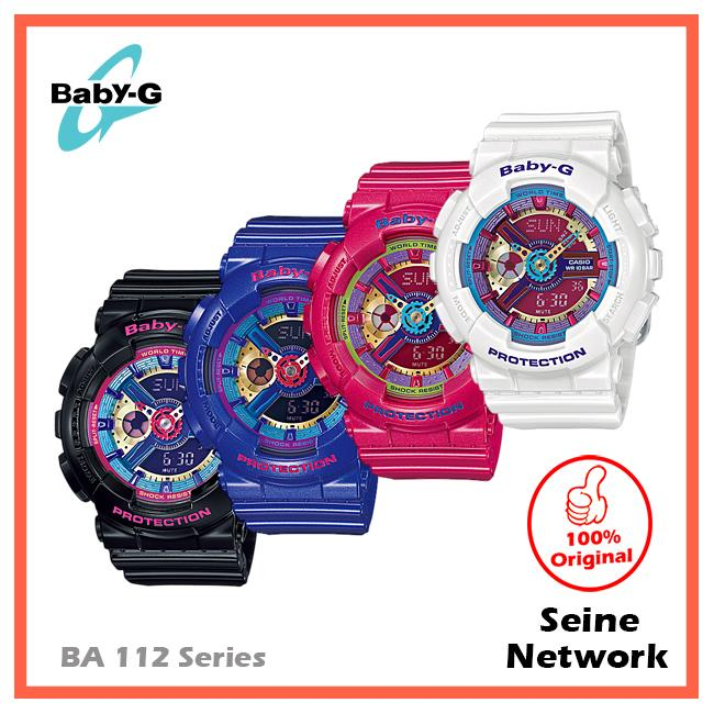 CASIO BABY-G BA-112-1A WATCH [ORIGINAL]