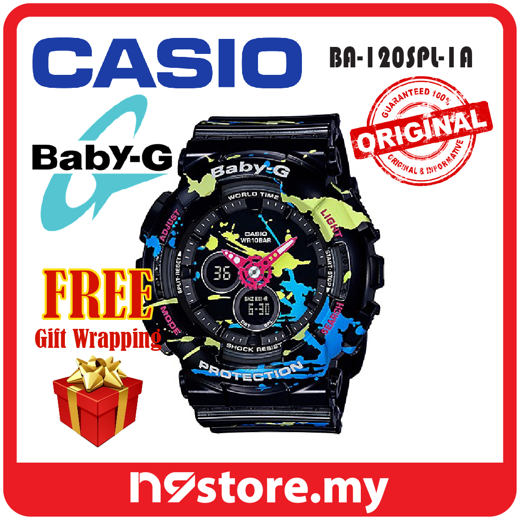 16fbafee0dcfd Casio Baby-G BA-120SPL-1A Analog Di (end 11 17 2020 5 51 PM)