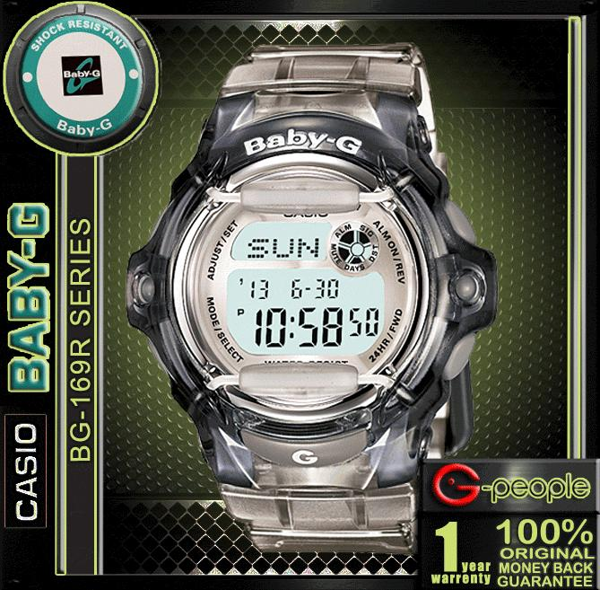 CASIO BABY-G BG-169R-8D WATCH ☑ORIGINAL☑