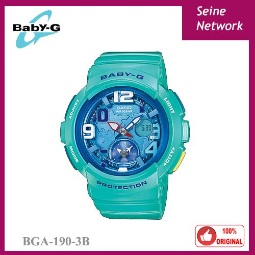 CASIO BABY-G BGA-190-3B WATCH [ORIGINAL]