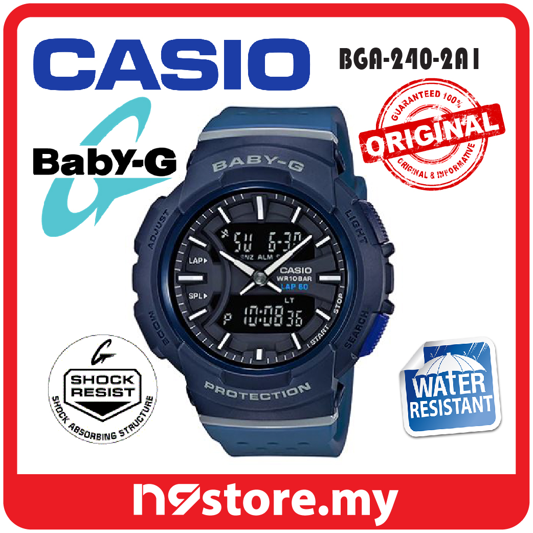 d6e5d3a81fa6 Casio Baby-G BGA-240-2A1 Ladies Res (end 5 28 2021 12 00 AM)