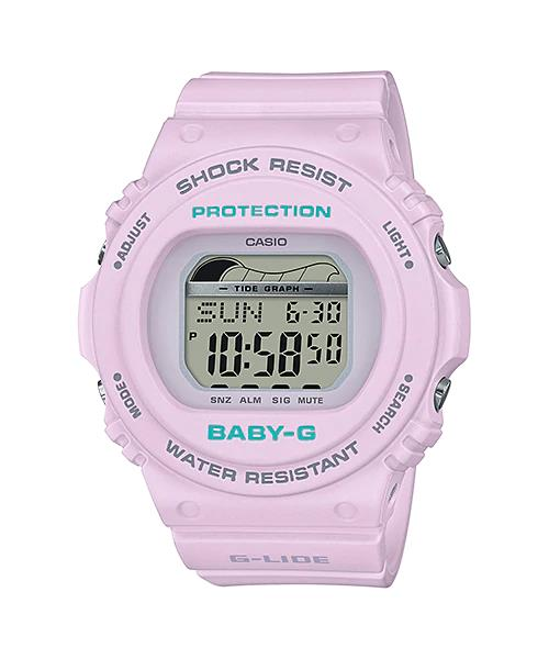 CASIO BABY-G BLX-570-6 Tide Graph capabilities