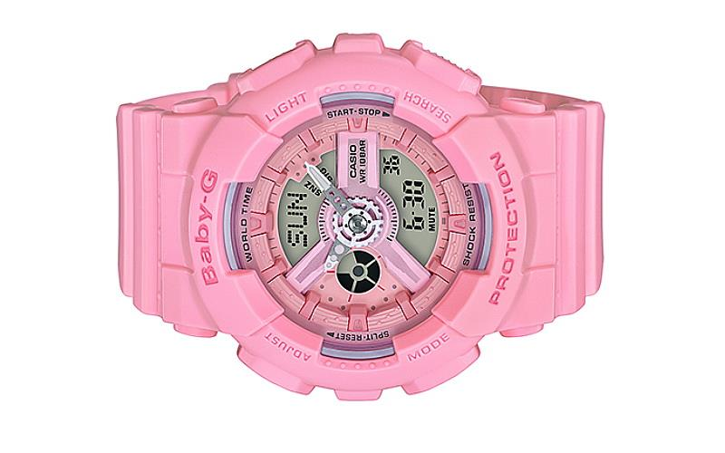 d39f9b7e28ef8 Casio Baby-G Pink Color Series Spor (end 12 22 2019 2 15 PM)