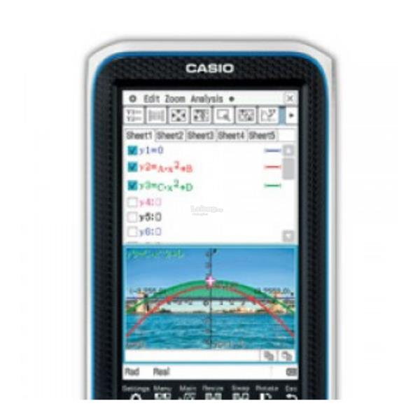 Casio ClassPad II FX-CP400 Colour Touch Screen CAS Graphic Calculator