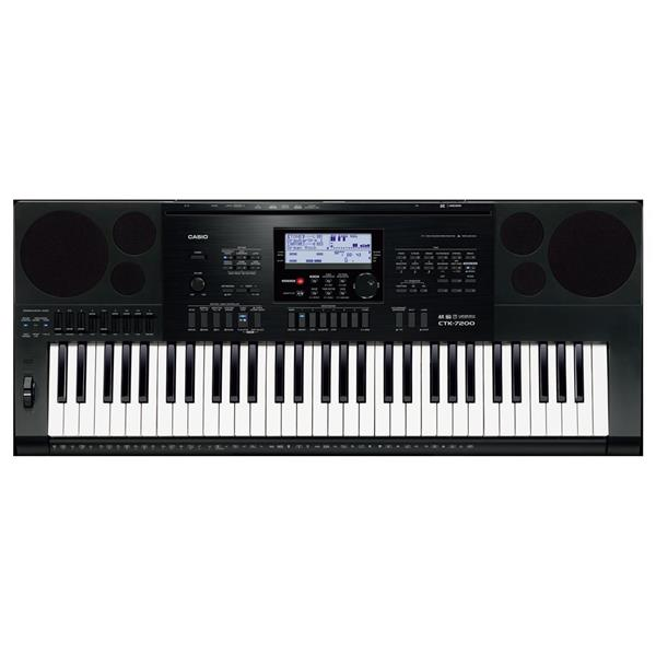 CASIO CTK7200 HIGH GRADE KEYBOARD WITH DOUBLE X STAND