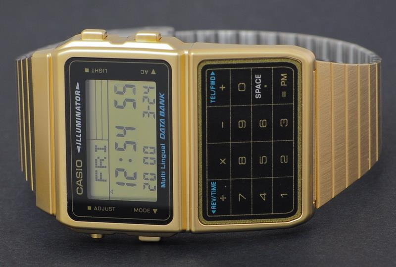 Casio Data Bank Calculator Watch DBC-611G-1DF