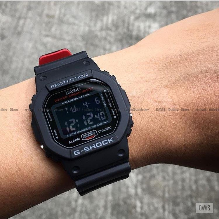 Casio Dw 5600hr 1 G Shock Digital Bla End 3 1 2020 6 18 Pm