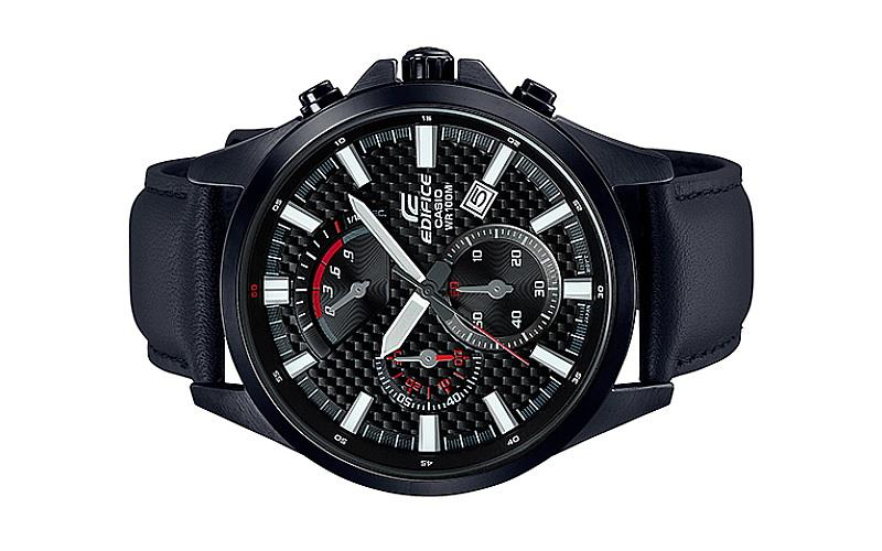 Casio EDIFICE Chronograph Watch EFV-530BL-1AVUDF