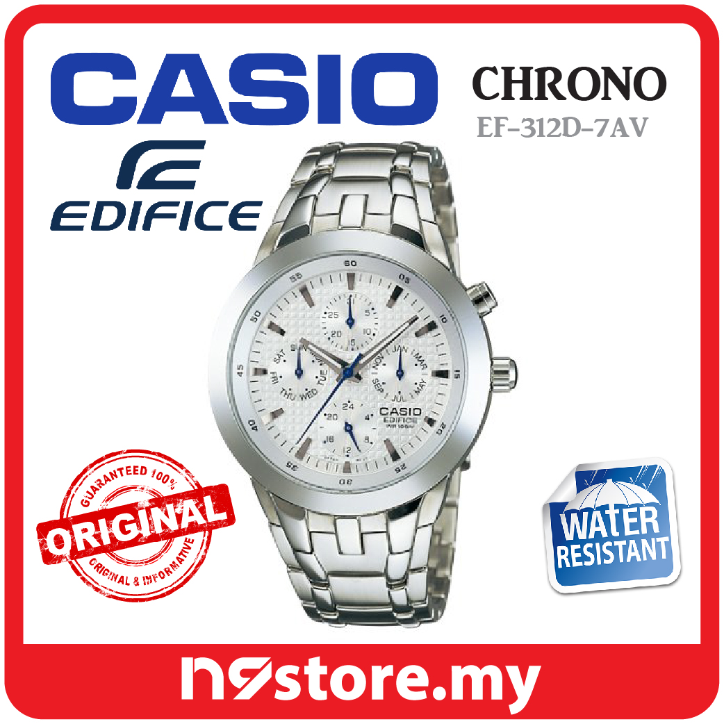 Casio Edifice EF-312D-7AV Chronograp (end 2 4 2021 12 00 AM) fb20f1d449