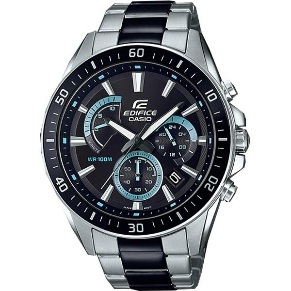 Casio EDIFICE EFR-552SBK-1A EFR-552SBK-1AV EFR-552SBK-1AVUDF Men Watch