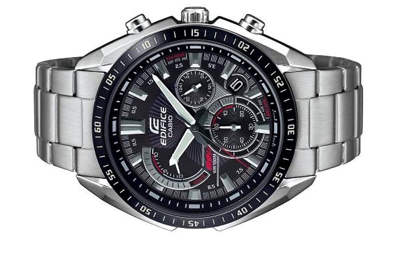 Casio EDIFICE Men Chronograph Retrograde Dial Watch EFR-570DB-1AVUDF