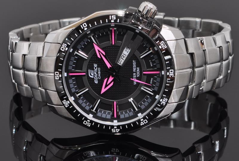a3a246dc5038 Casio EDIFICE Men Day Date Watch EF- (end 3 18 2020 3 15 PM)