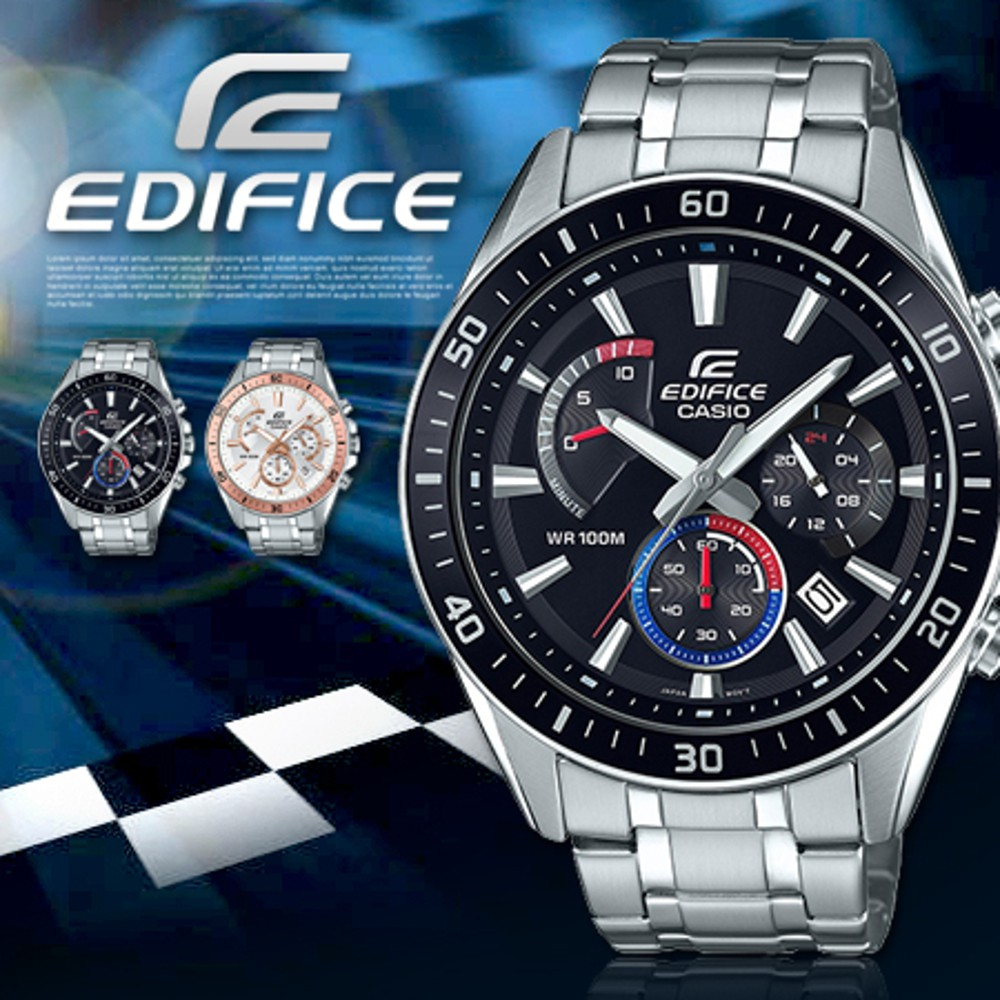 Casio Edifice Original Efr 552d 1a3 End 9 5 2021 12 00 Am