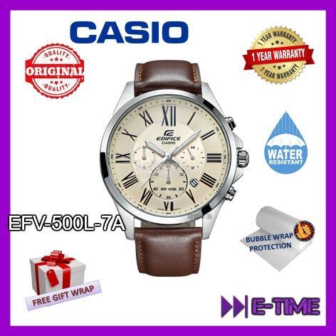 Casio Edifice Original Efv 500l 7a C End 4 10 2020 3 15 Pm