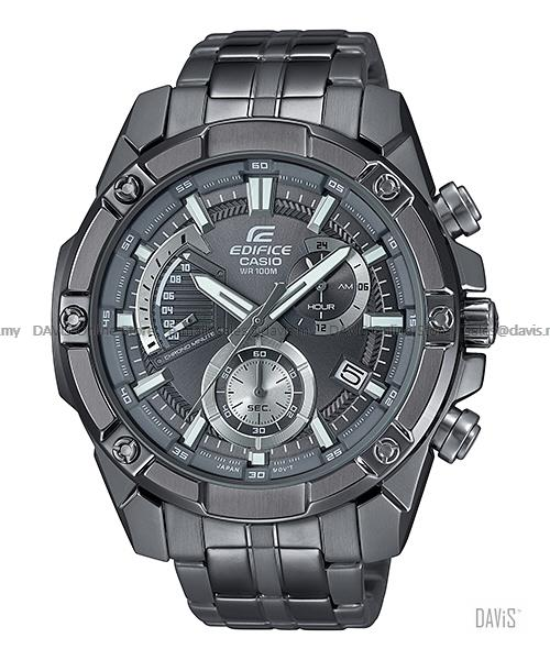 CASIO EFR-559GY-1AV EDIFICE chronograph retrograde SS bracelet grey