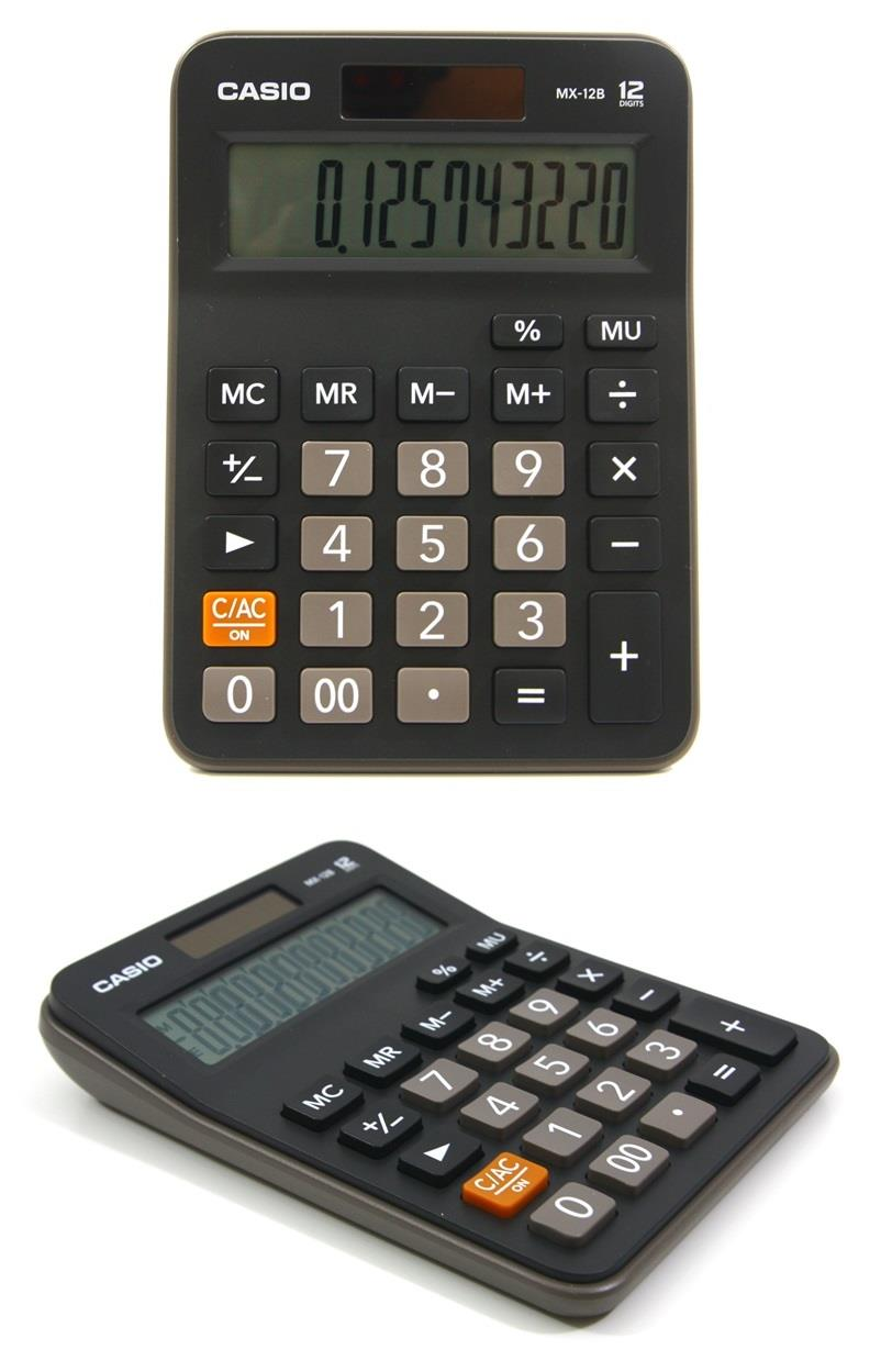 Casio Electronic Calculator Mx 12b 1 End 6 19 2018 545 Pm 12 Digit