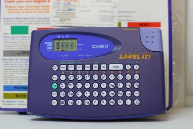 Casio EZ-label Printer