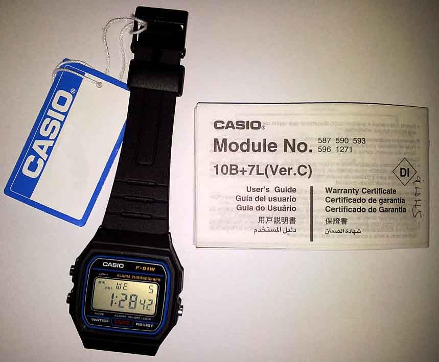 Casio F-91W Casual Digital Watch