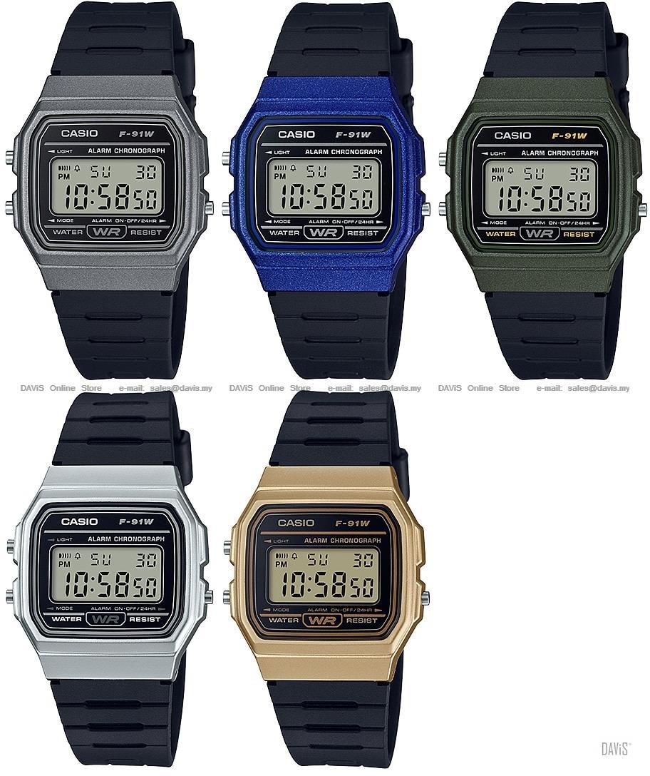 10139d1087ca CASIO F-91WM STANDARD digital vintage series stopwatch alarm  Variant. ‹ ›
