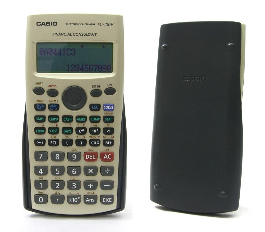 Casio Financial Calculator End   Pm