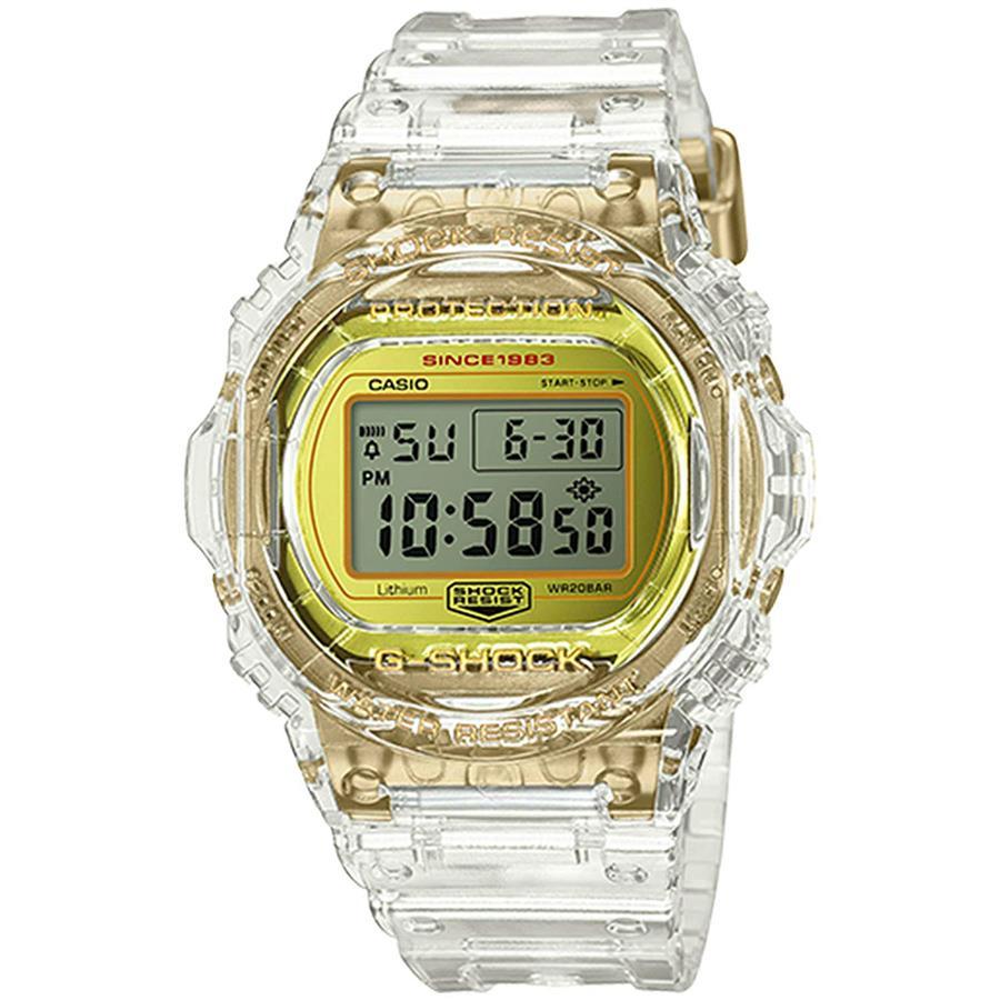 39232192d Casio G-Shock 35th Anniversary Glacier Gold Watch DW5735E-7. ‹ ›