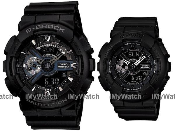 0eeff0ac6b76 Casio G-Shock   Baby-G GA-110-1B   BA (end 3 4 2017 2 15 PM)