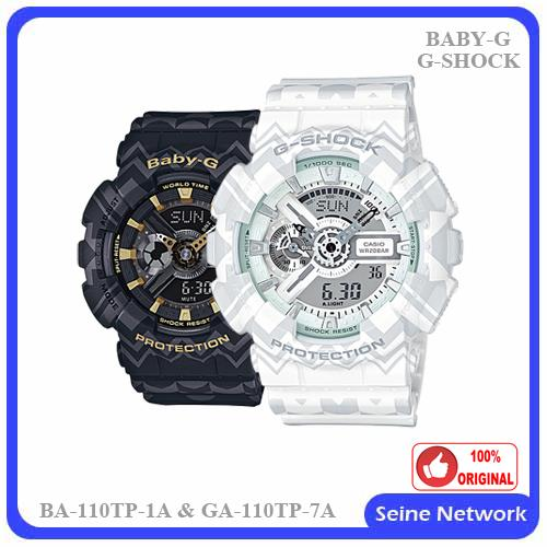 c3cbb88eda77 CASIO G-SHOCK+BABY-G GA-110TP-7A+BA- (end 6 17 2018 3 15 PM)