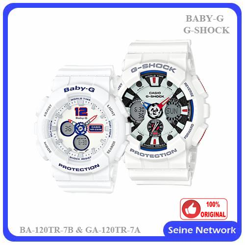 3175b198c7bf CASIO G-SHOCK+BABY-G GA-120TR-7A+BA (end 11 25 2017 5 15 PM)