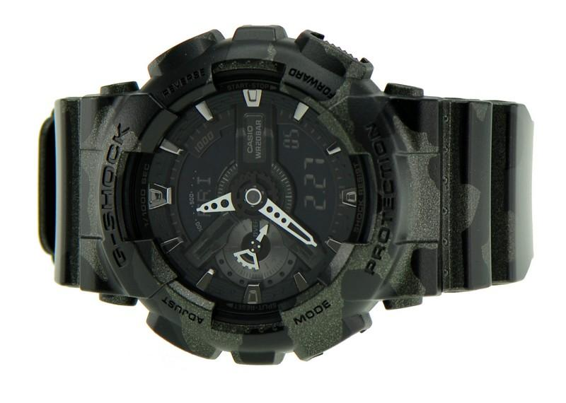 ea7ab1a91 Casio G-Shock Camouflage GA-110CM-1A (end 5 17 2020 5 15 PM)