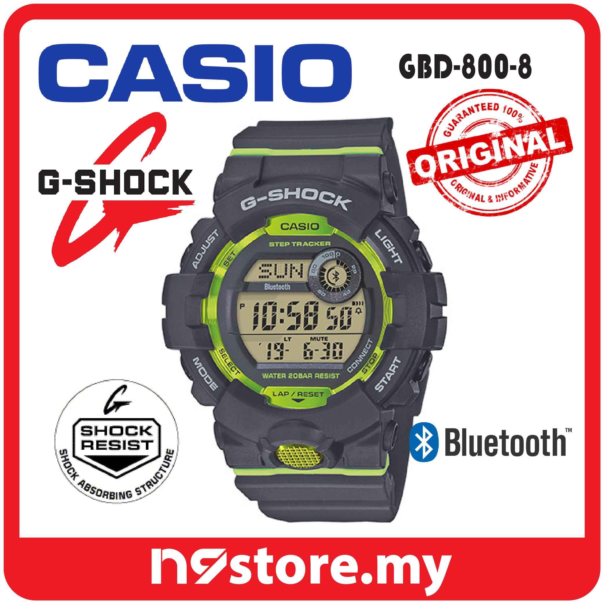 75996732f Casio G-Shock Digital GBD-800-8 Step (end 4 9 2021 12 00 AM)