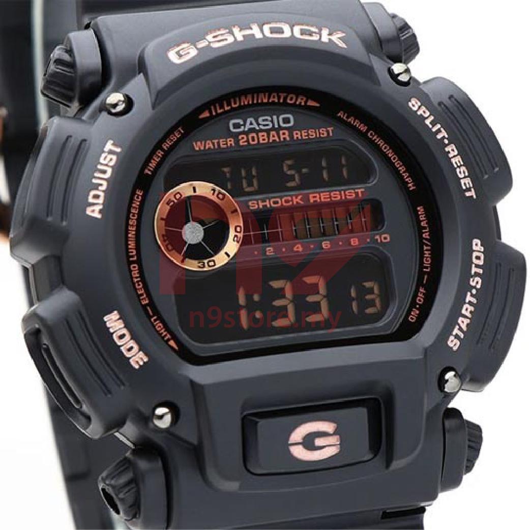 Casio G-Shock DW-9052GBX-1A4 Digital Men Rose Gold Design Jam Tangan 4b203d54fe