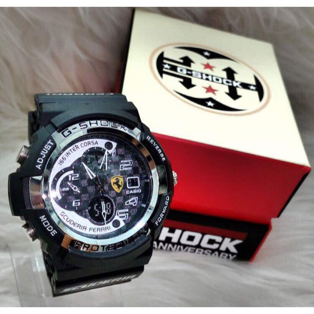 Casio G shock Ferrari Jam tangan lel (end 6 5 2021 12 00 AM) 47031bbda4
