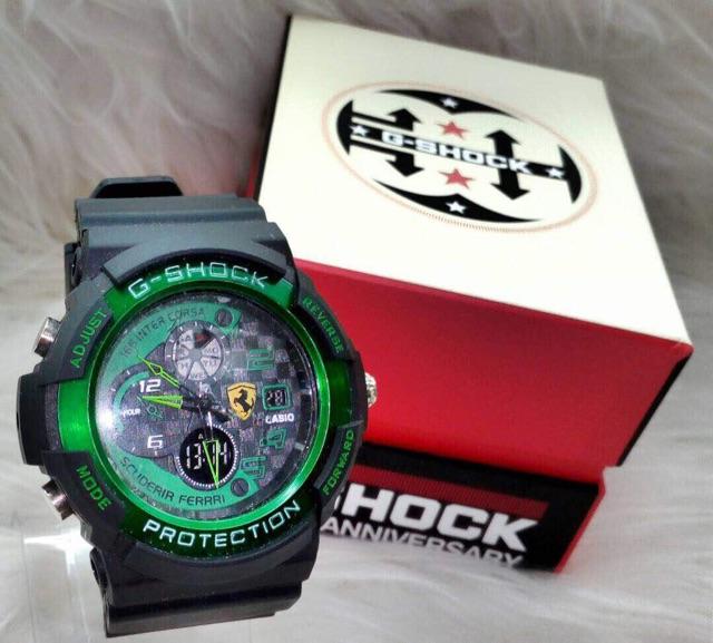 Casio G shock Ferrari Jam tangan lel (end 6 5 2021 12 00 AM) 02257637cd