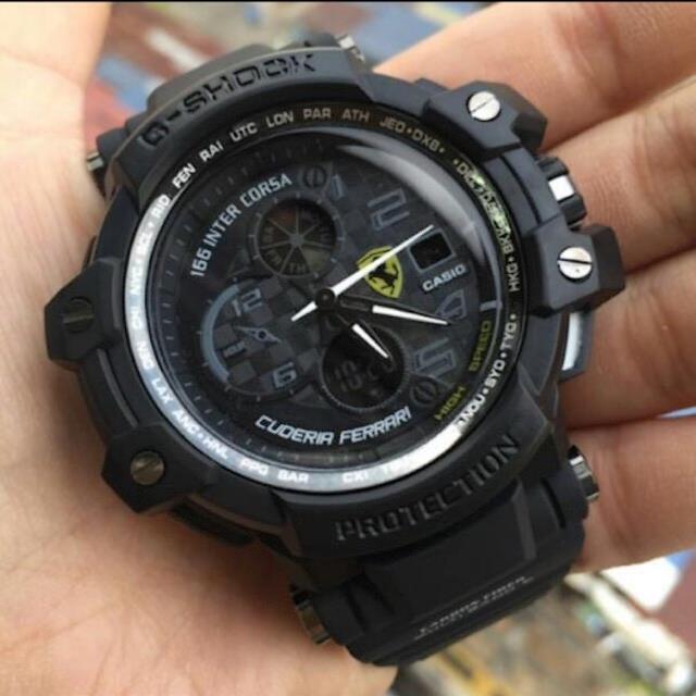 Casio G shock Ferrari Jam tangan lel (end 6 5 2021 12 00 AM) 0db1aaf99d
