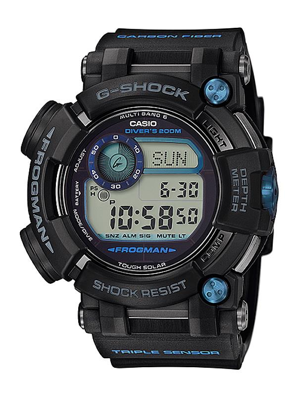 Casio G-Shock FROGMAN Water Depth Sensor GWF-D1000B-1DR