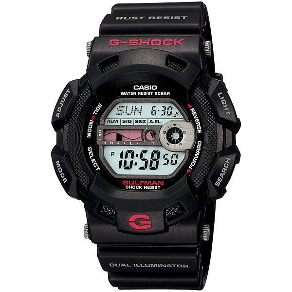Casio G-Shock G-9100-1DR Gulfman EL Flash Alert Watch With Warranty. ‹ › 7ea7a80d38