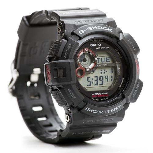 Casio G-Shock G-9300-1 MUDMAN Twin-Sensor Tough Solar Digital 338730ab1429