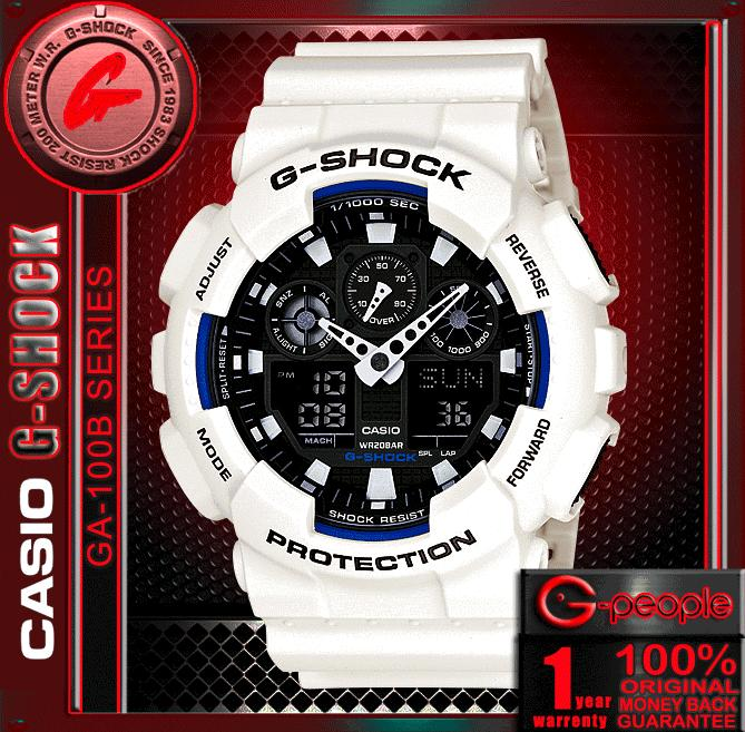 CASIO G-SHOCK GA-100B-7A ANALOG DI (end 12 17 2017 12 59 PM) 6e40dd374