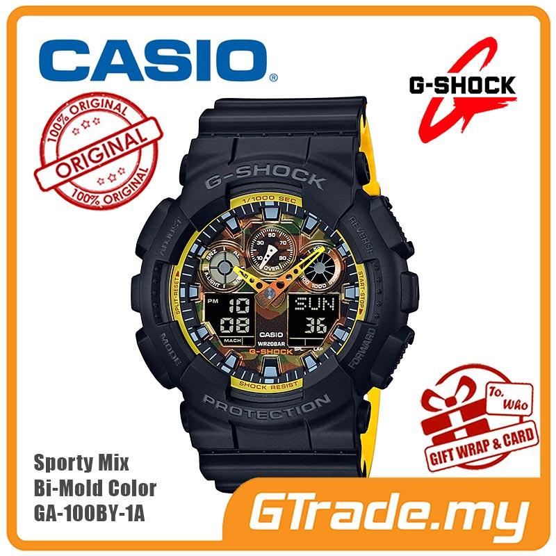 7c5d36c3b62a CASIO G-SHOCK GA-100BY-1A Analog Di (end 7 12 2021 12 00 AM)